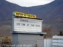 Roadside Peek Drive In Theatre Rocky Mountains 1