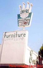 Roadside peek other roadside signage southern california 3 for Furniture stores in burbank